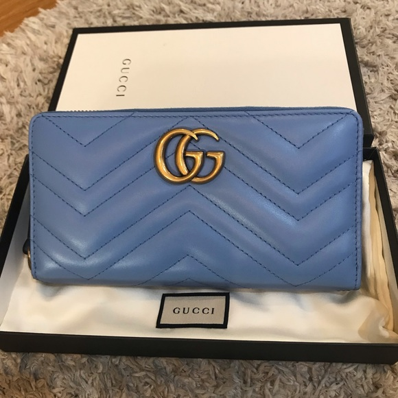 defd7f458d16 Gucci Bags | Marmont Zip Wallet | Poshmark